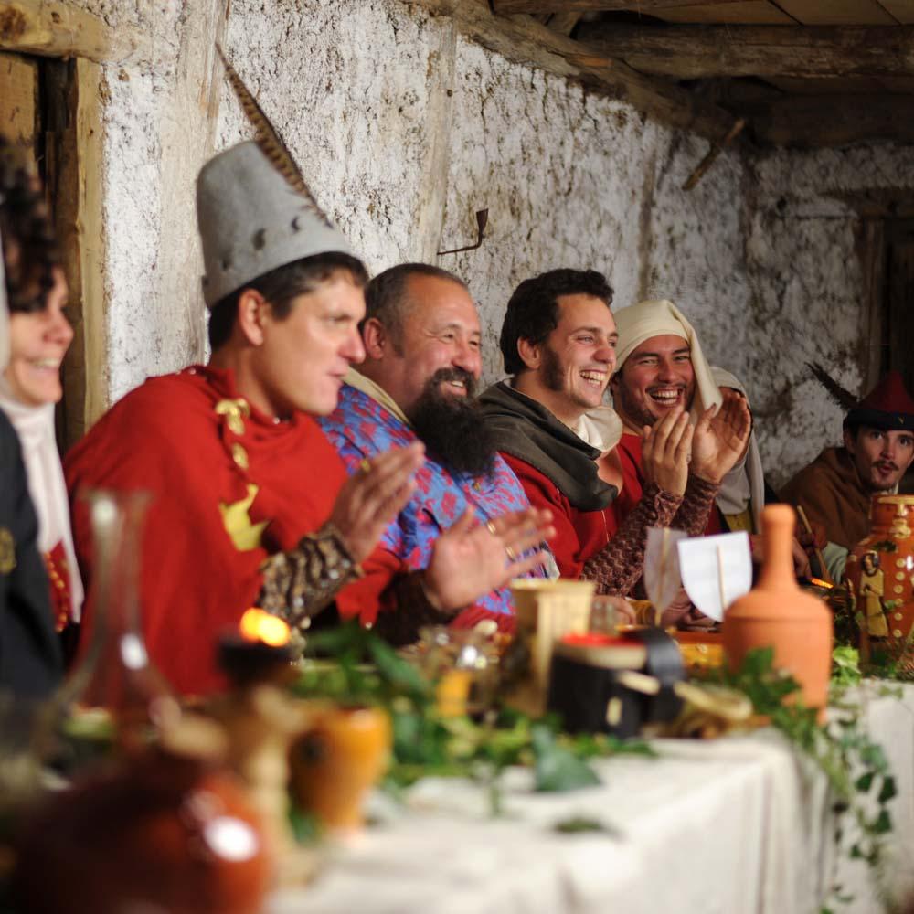 Banquet - Restauration médiévale